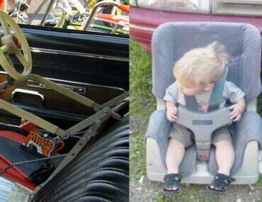 Η ιστορία των παιδικών καθισμάτων αυτοκινήτου