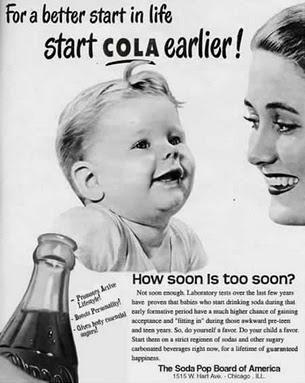 vintage διαφημίσεις cola