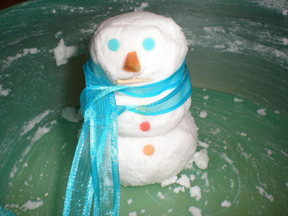 Φτιάξε χιόνι με 2 υλικά