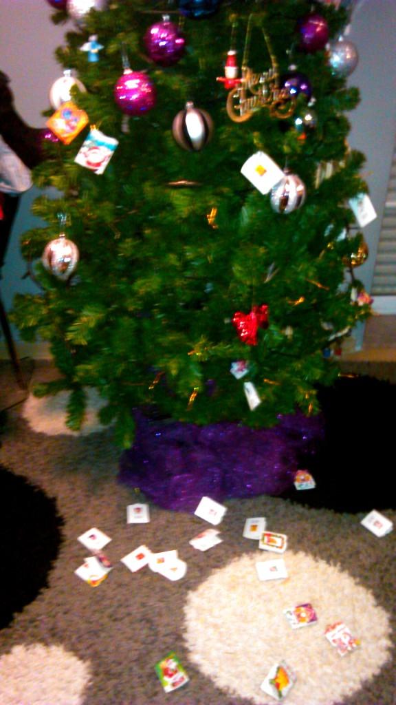 Το Χριστουγεννιάτικο δέντρο του νηπίου