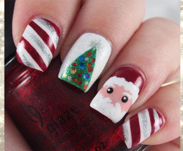 Χριστουγεννιάτικα νύχια!