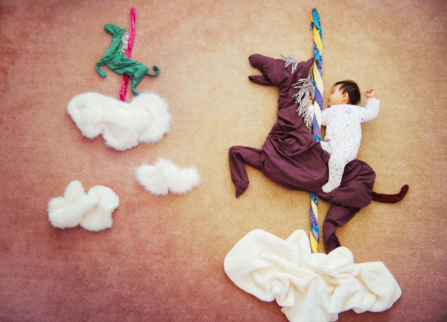 Οι περιπέτειες ενός μωρού στον ύπνο του