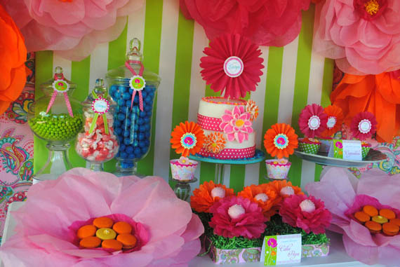 GWD Posies and Paisley Garden Party Dessert Table 3