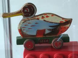 wooden duck lego