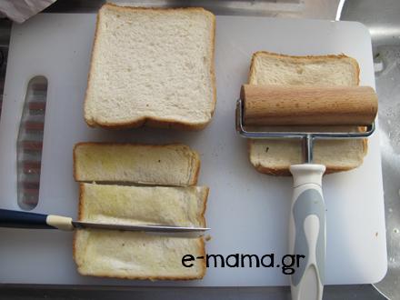 φωλίτσες με κιμά ή τυρί 4