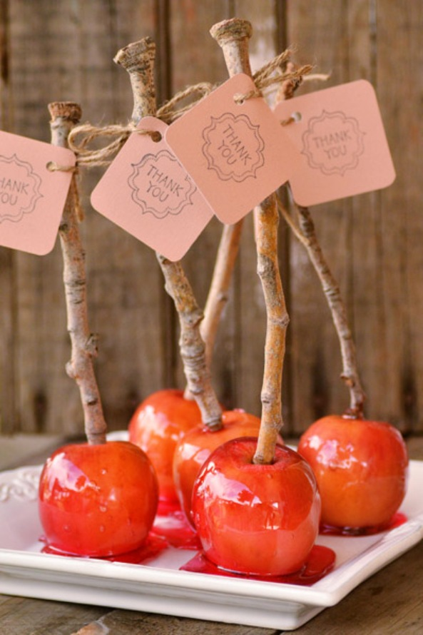 καραμελωμένα μήλα 1 e-mama