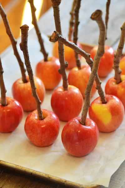 καραμελωμένα μήλα 5 e-mama