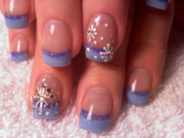 Χριστούγεννα νύχια