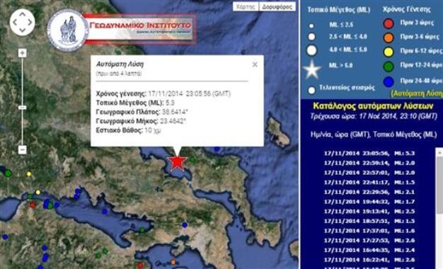 σεισμός Εύβοια