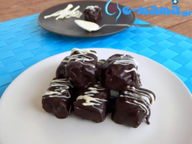 chocolate dessert with xalvas