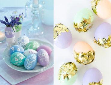 31 ιδέες για να βάψεις τα πασχαλινά αυγά