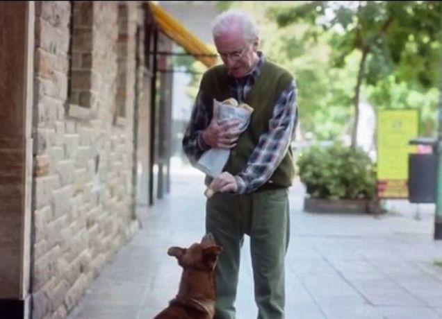 """""""Ο άντρας και ο σκύλος"""""""