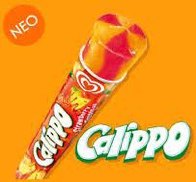 παγωτό calippo