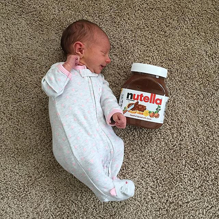 Baby-vs-Nutella