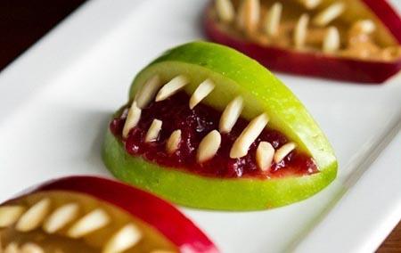 halloween party vampire aplles