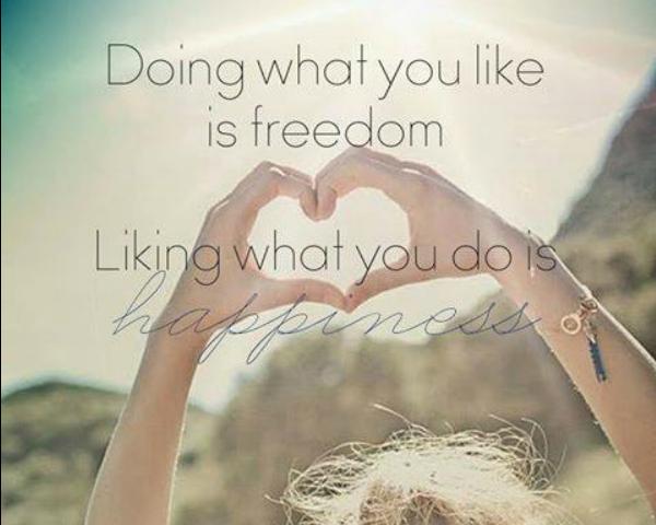 Να μην κάνεις αυτό που αγαπάς, να κάνεις αυτό στο οποίο είσαι καλός