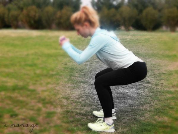 Άσκηση καθίσματα ή squats: χρήσιμες συμβουλές