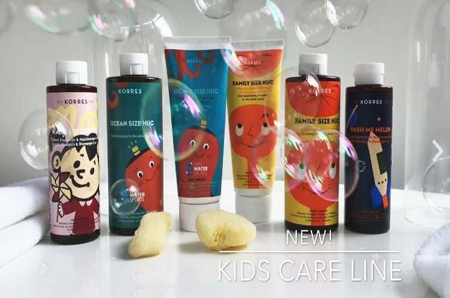 Φυσικά συστατικά για το παιδικό δέρμα με προϊόντα Korres