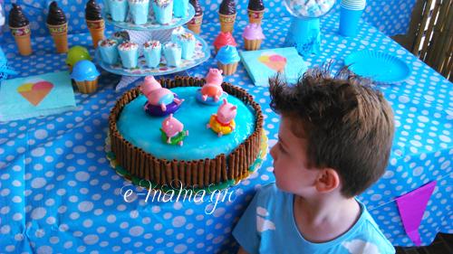 Φτιάξε ζελέ επικάλυψης τούρτας με εφέ νερού – Piping gel 4