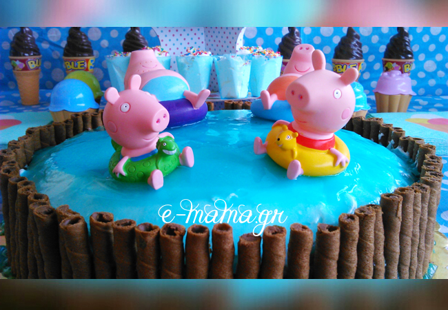 Φτιάξε ζελέ επικάλυψης τούρτας με εφέ νερού – Piping gel