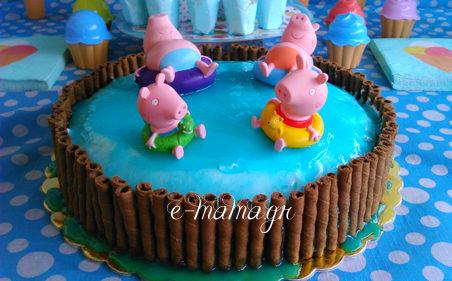 Φτιάξε ζελέ επικάλυψης τούρτας με εφέ νερού – Piping gel 5