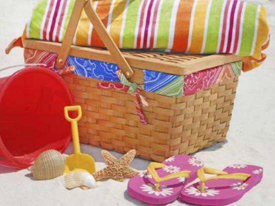 15 ιδέες για υγιεινά σνακ στην παραλία