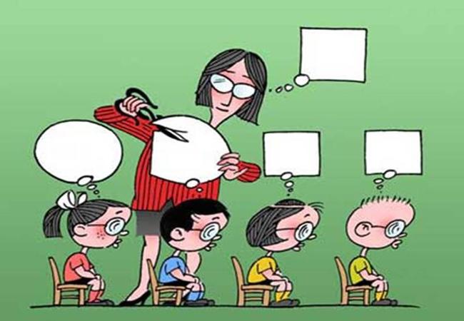 Δε μπορώ να ευχηθώ για σχολεία που τα παιδιά τρέμουν από το άγχος τους