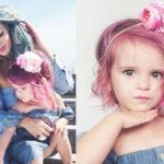 Η μαμά που βάφει τα μαλλιά της κόρης της και διχάζει – Τι λένε οι ειδικοί
