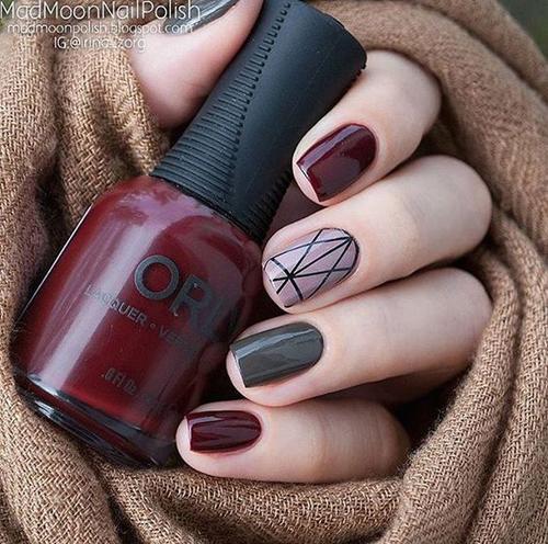 20 super ιδέες για νύχια το φθινόπωρο χειμώνα 2