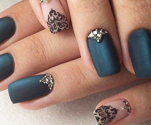 20 super ιδέες για νύχια το φθινόπωρο χειμώνα 7
