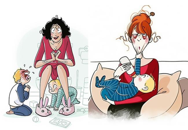 Πως είναι να έχεις παιδιά σε 20 ρεαλιστικά σκίτσα