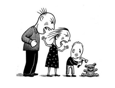Είναι τραγικό να χτυπάς το παιδί σου. Δείχνει πόσο ξόφλησες