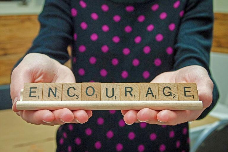 """Ενθάρρυνση - να λες """"μπορείς"""" και να το εννοείς"""
