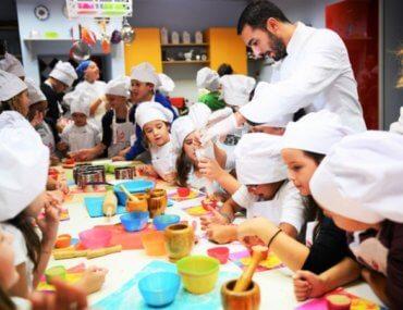 Μια σχολή μαγειρικής για παιδιά...μόνο!