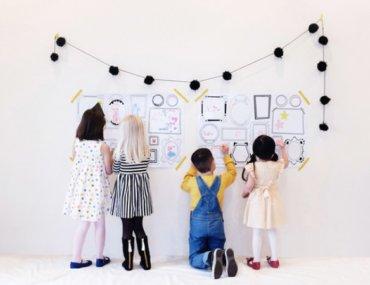Γιατί πρέπει να αφήνεις τα παιδιά σου να ζωγραφίζουν στον τοίχο