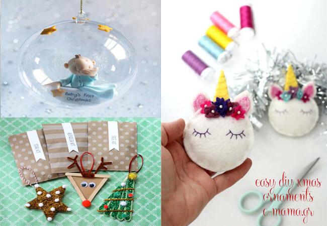 Εύκολες diy χριστουγεννιάτικες κατασκευές για παιδιά με μικρό κόστος