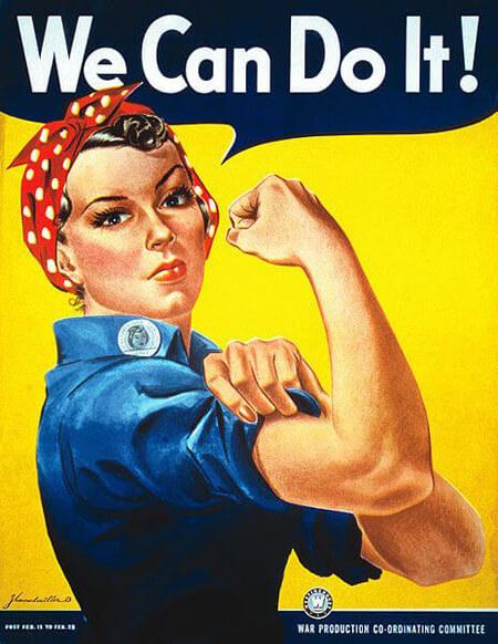 Ποια είναι η γυναίκα που ενέπνευσε τη διάσημη αφίσα για τη γυναίκα