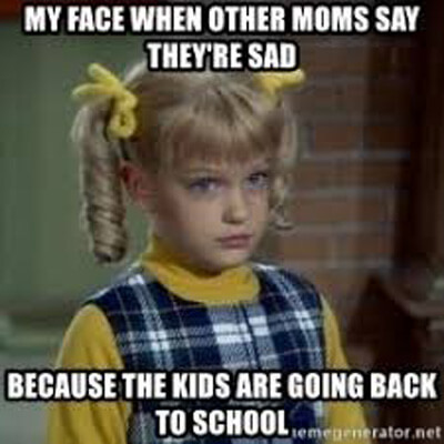 Είμαι ο τύπος της μαμάς που μελαγχολώ όταν ανοίγουν τα σχολεία