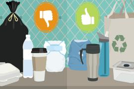 13 τρόποι να χρησιμοποιούμε λιγότερο τα πλαστικά