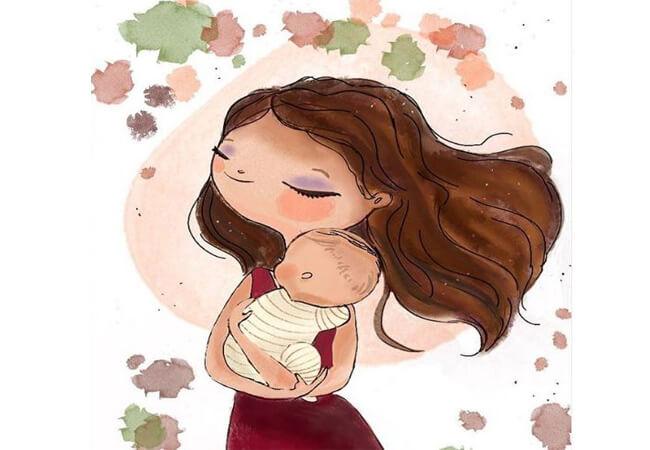 Μαμά δε γίνεσαι τη μέρα που γεννάς. Μαμά γίνεσαι μέρα με τη μέρα.