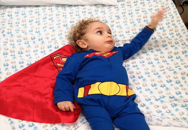 Ο μικρός μαχητής Παναγιώτης Ραφαήλ βγήκε από το νοσοκομείο