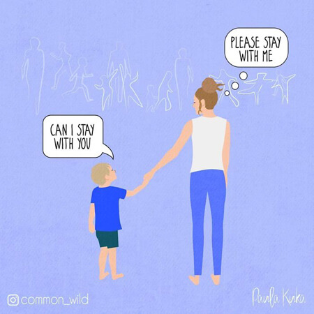 15 ειλικρινή σκίτσα για στιγμές μητρότητας που ζούμε όλες