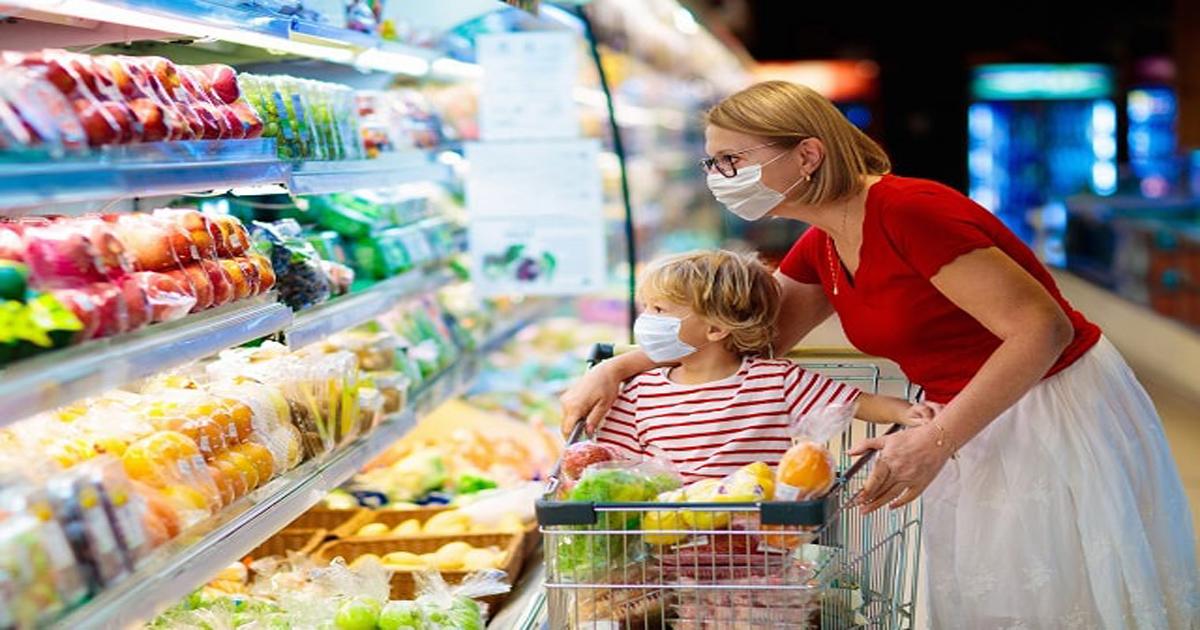 Μάσκες στα σούπερ μάρκετ: Οι κανόνες για παιδιά και μωρά