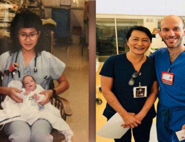 Νοσοκόμα ανακάλυψε πως ο νέος της συνάδελφος είναι το πρόωρο μωράκι που φρόντιζε