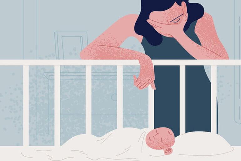 Δεν ήθελα τα παιδιά μου - Έτσι μοιάζει η επιλόχειος κατάθλιψη