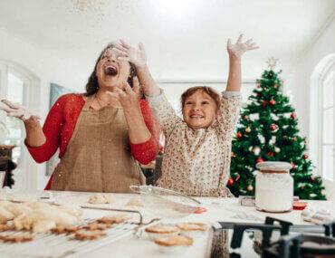 Χριστούγεννα γεμάτα δώρα, αλεύρι και ακαταστασία