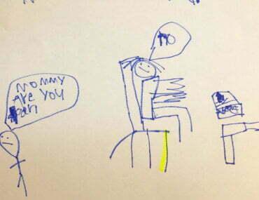 Η ζωγραφιά του 6χρονου που σόκαρε τη μαμά του