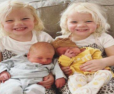 Μαμά με 5 παιδιά γέννησε 2 φορές δίδυμα σε 3 χρόνια