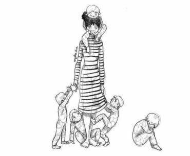Μπορώ να παραπονιέμαι για τη μητρότητα - Αυτό δεν με κάνει αχάριστη